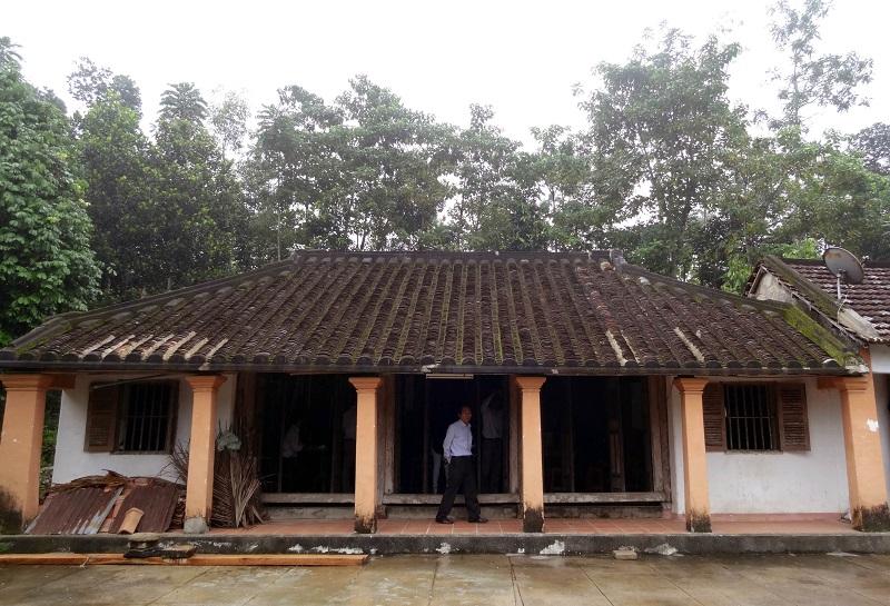 Ngôi nhà cổ của gia đình ông Hoan ở làng Lộc Yên (Quảng Nam)