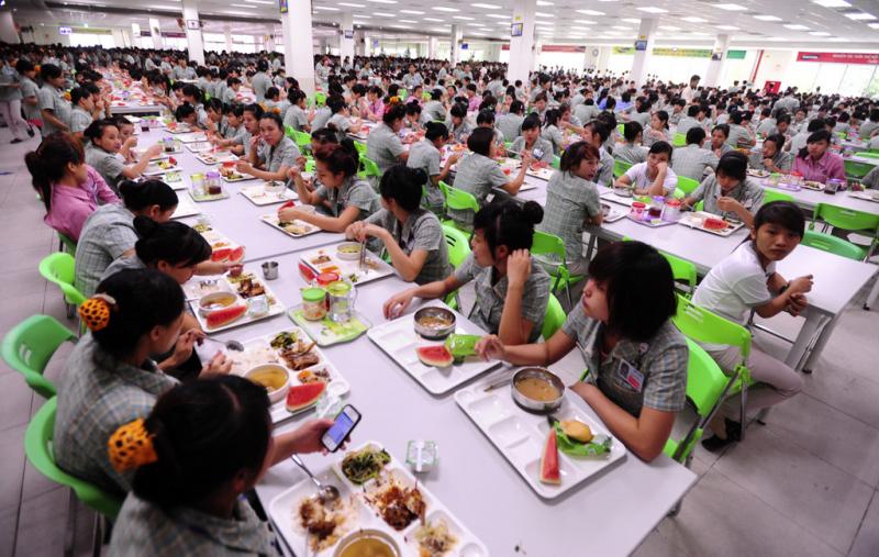 Nhà cung cấp suất ăn công nghiệp Tân Việt