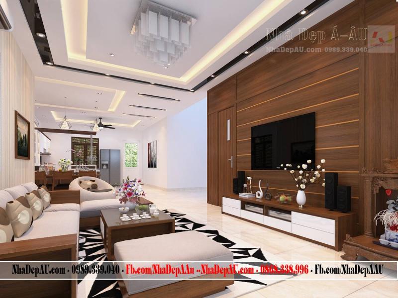 Thiết kế nội thất ân tượng tại nội thất Á âU