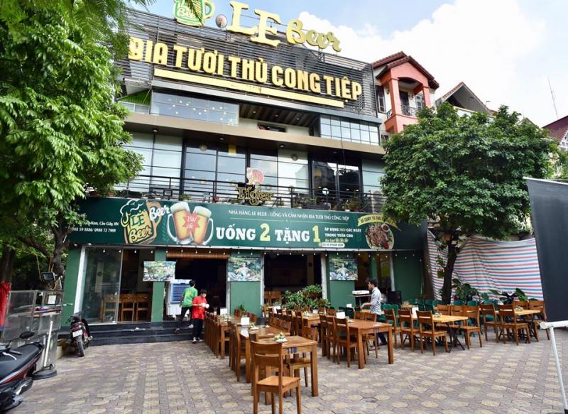 Nhà hàng Le Beer – 92 Vũ Phạm Hàm