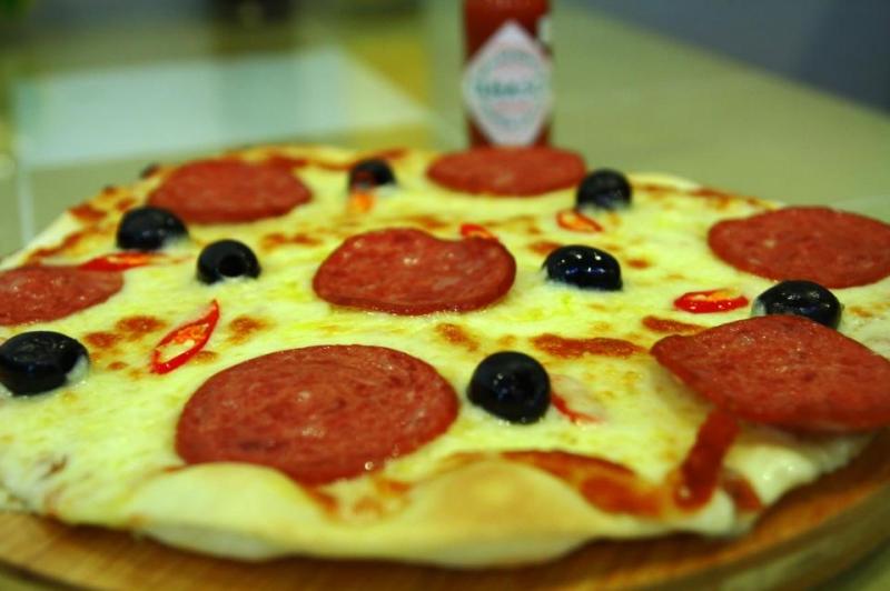 Pizza của cửa hàng