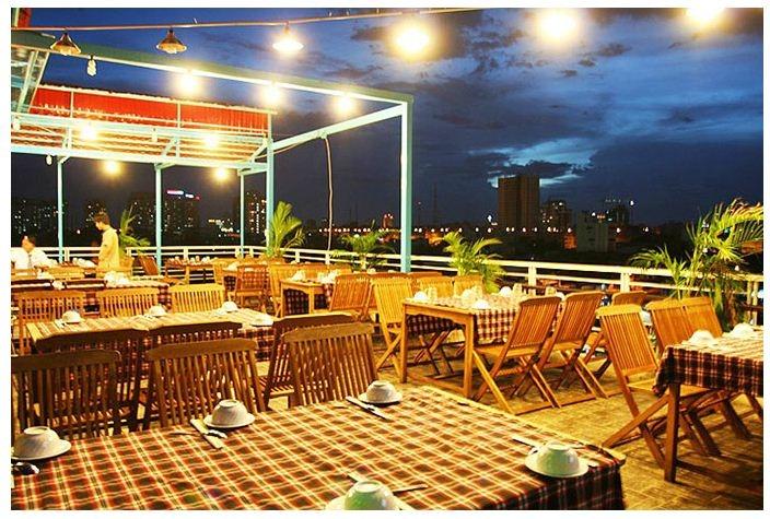 Không gian nhà hàng sang trọng Hàng Dương
