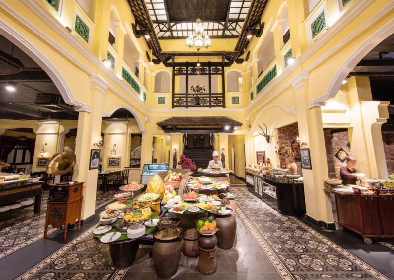 Nhà hàng buffet Sen Tây hồ