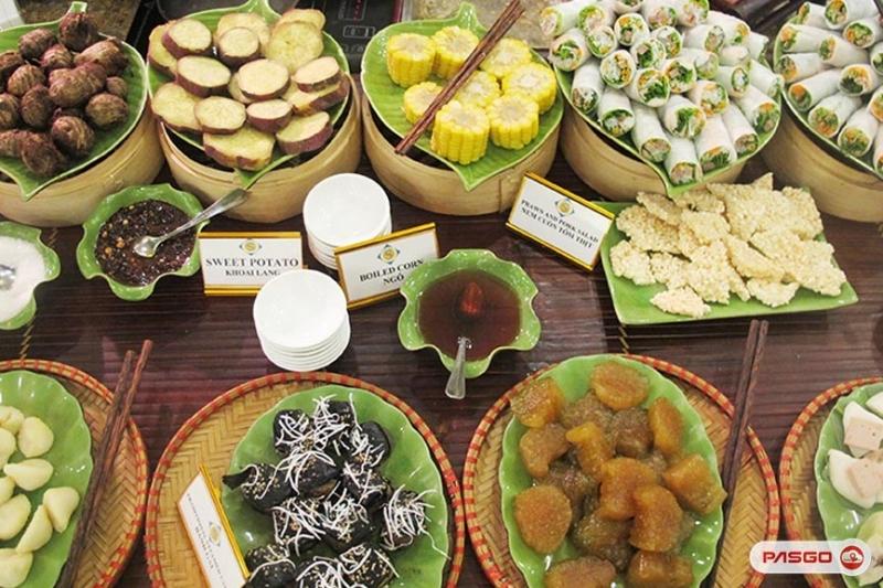 Nhà hàng không gian đẹp Buffet Sen Việt hoạt động theo hình thức buffet