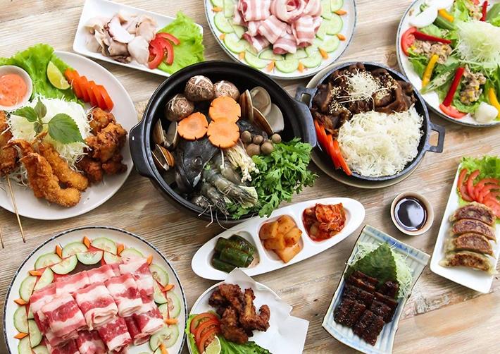 Buffet Sushi Dining AOI nhà hàng buffet ngon và nổi tiếng bậc nhất ở quận 3