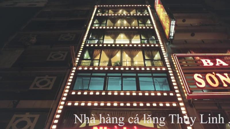 Nhà hàng Cá Lăng Thùy Linh gồm 07 tầng đảm bảo khong gian phục vụ các bữa tiệc của cơ quan, tổ chức