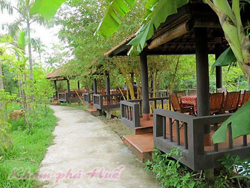 Nhà hàng câu cá thư giãn – cafe vườn Làng An Việt