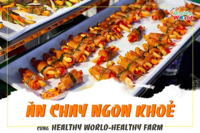 Buffet chay tại Healthy World