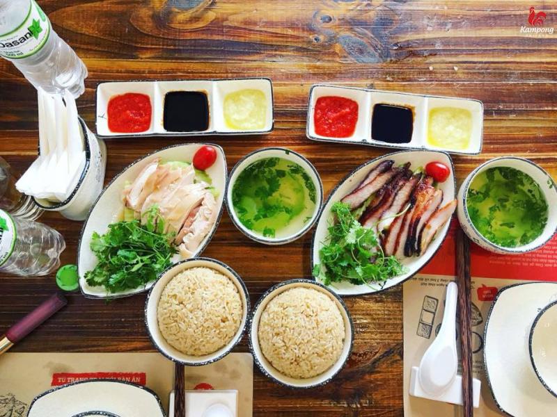 Nhà hàng Cơm Gà Hải Nam – Kampong Chicken