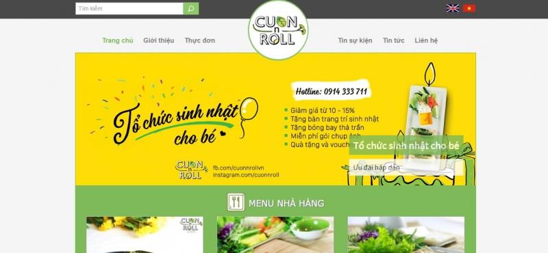 Nhà hàng Cuốn N Roll  hào mang đến cho bé yêu bữa tiệc sinh nhật ý nghĩa và ấn tượng nhất