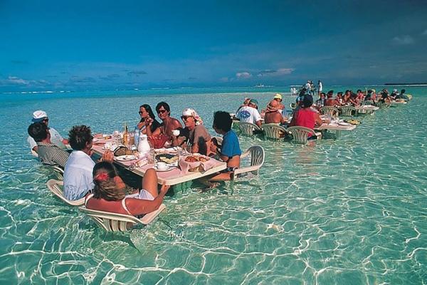 Nhà hàng Đại Dương tại Bora Bora, Pháp