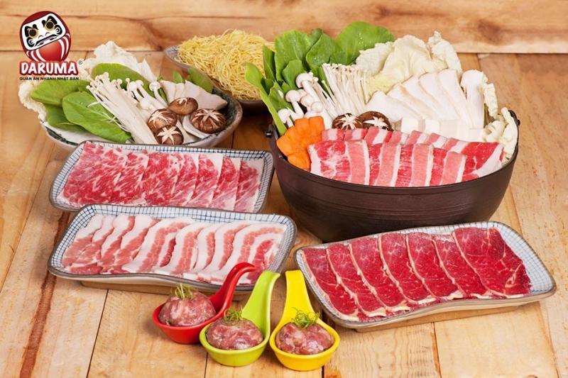 Nhà hàng Daruma là một trong những quán ăn Nhật Bản được yêu thích nhất