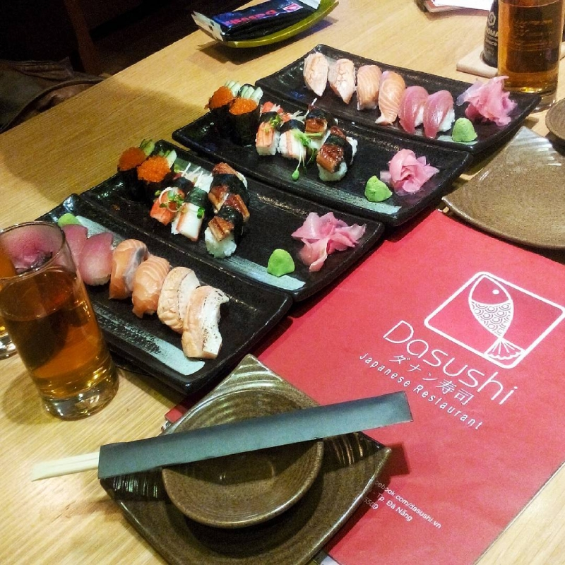 Sushi tại Dasushi
