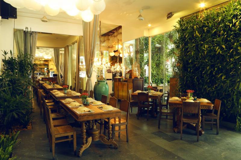 Không gian đẹp đến mê hồn tại nhà hàng Gạo