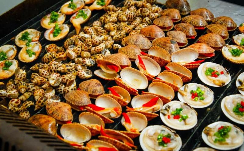 Rất nhiều món ăn đặc biệt của biển cả