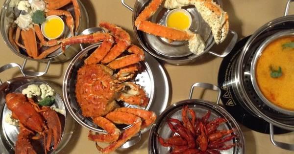 Đồ ăn tại nhà hàng Hải Sản Biển Đảo rất được lòng thực khách