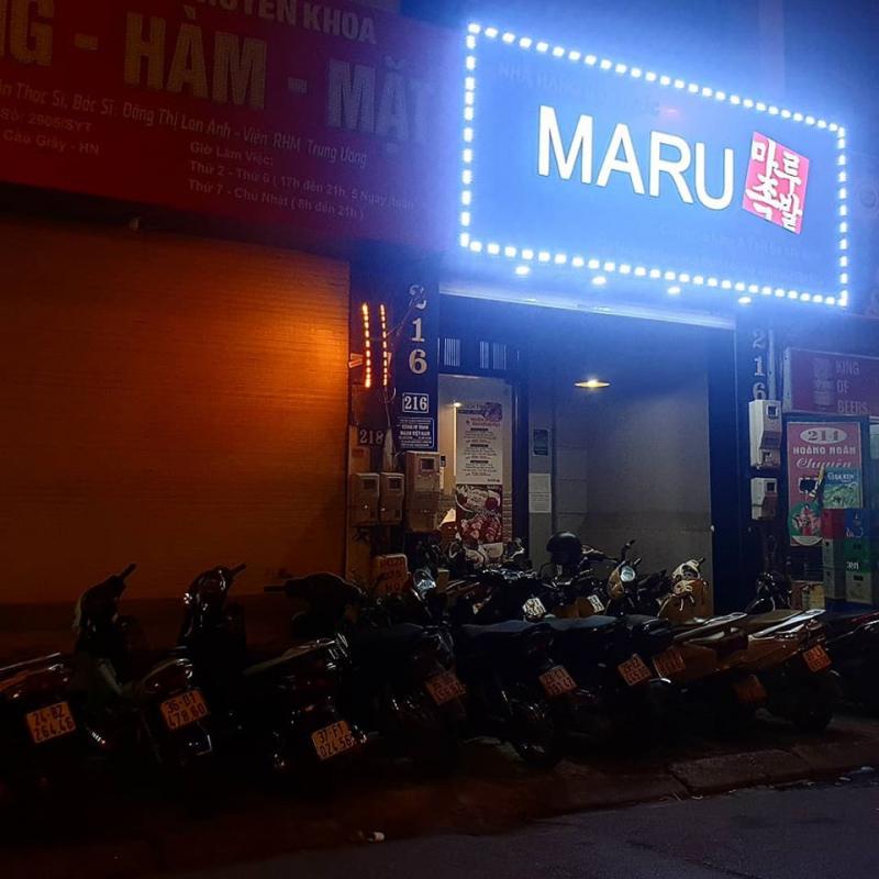 Nhà hàng Hàn Quốc MARU