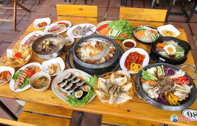 Top 10 nhà hàng Hàn Quốc nổi tiếng nhất Hà Nội