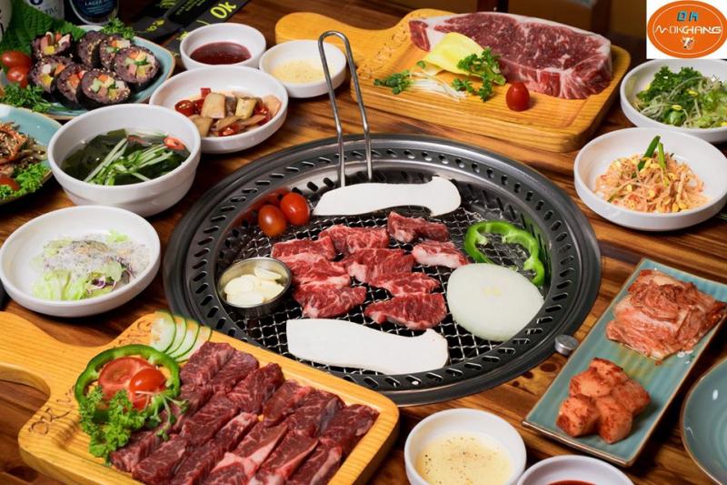 Nhà hàng Hàn Quốc OK Mokchang 목장