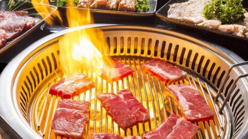 Menu món ăn của nhà hàng Hana BBQ đa dạng theo phong cách phương Tây