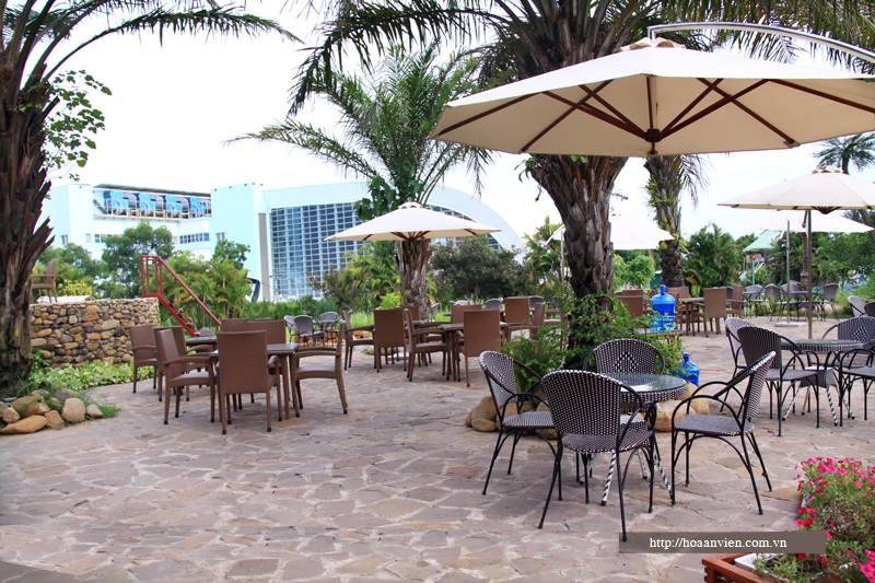 Nhà hàng Hoa An Viên là một trong những nhà hàng sinh thái đậm chất thiên nhiên ở Hà Nội