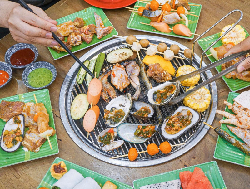 Hun Khói BBQ là địa chỉ thưởng thức buffet tuyệt vời, được nhiều khách hàng ủng hộ tại Đà thành.