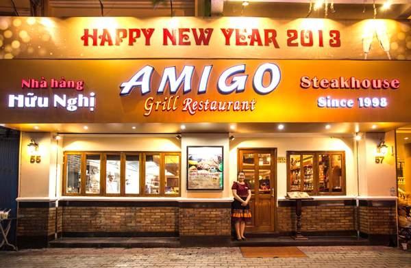 Nhà hàng Hữu Nghị Amigo