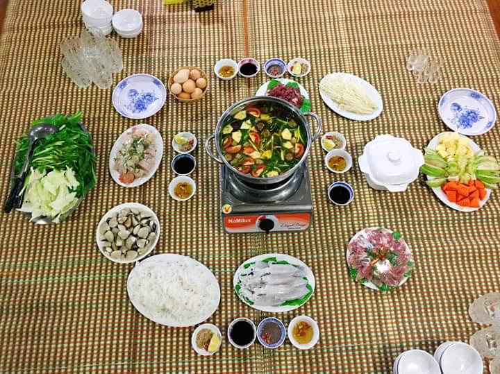 Những món ăn được yêu thích tại nhà hàng Huy Hương