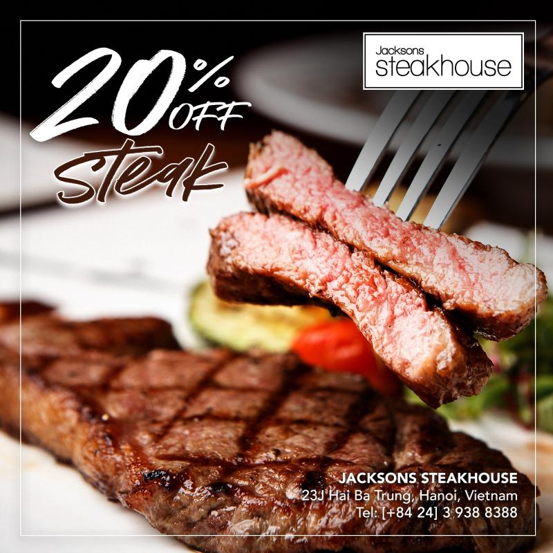 Nhà hàng Jacksons Steakhouse