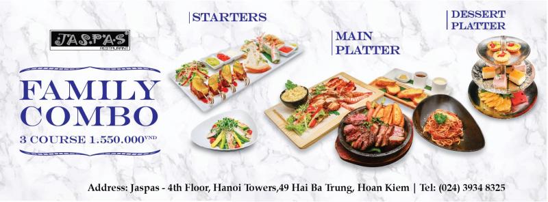 Nhà hàng Jaspas - Hanoi Tower