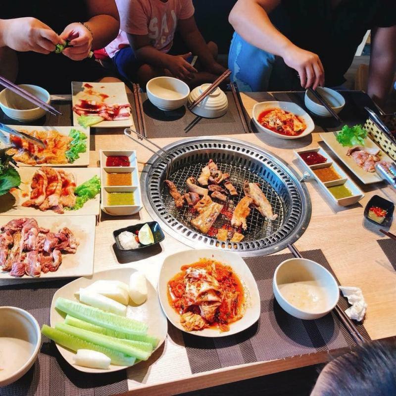 Nhà hàng Ken BBQ Mộc Châu