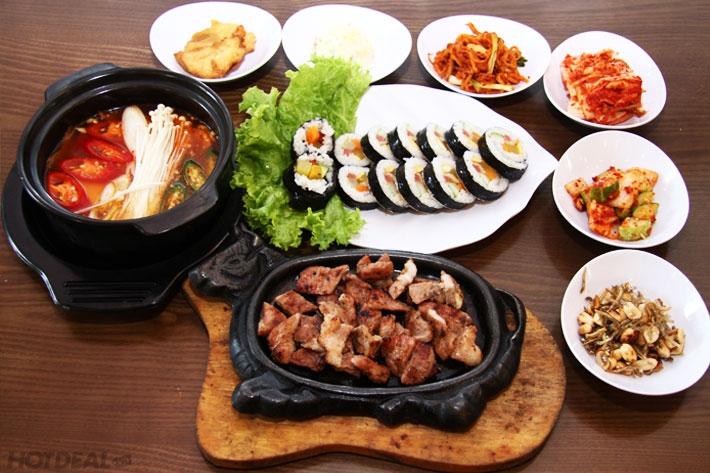 Nhà hàng Kimbap nổi tiếng với những món ăn đậm chất Hàn Quốc