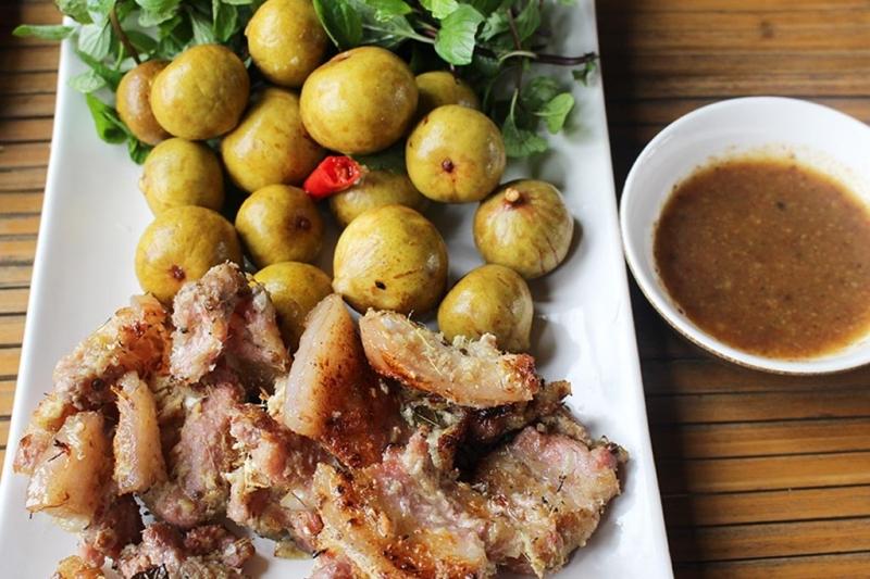 Ẩm thực tại nhà hàng Lã Vọng đều mang hương vị Việt Nam dân dã