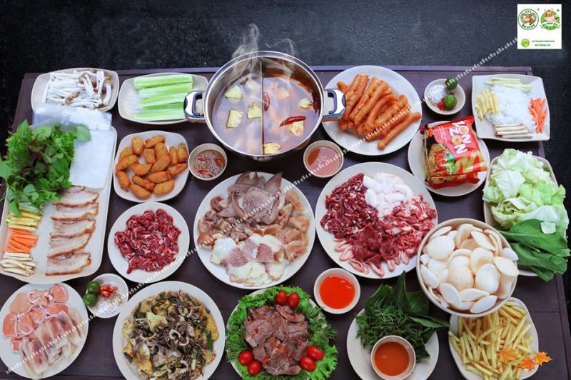Bò nhúng dấm 555 với rất nhiều cơ sở ở Hà Nội