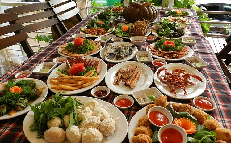 Những món ăn nổi tiếng tại nhà hàng