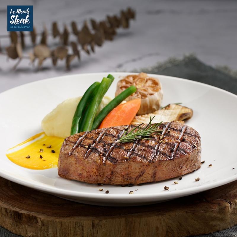 Le Monde Steak - Bít tết kiểu Pháp