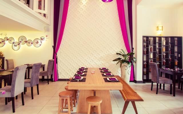 Không gian tinh tế, lịch sự ở nhà hàng