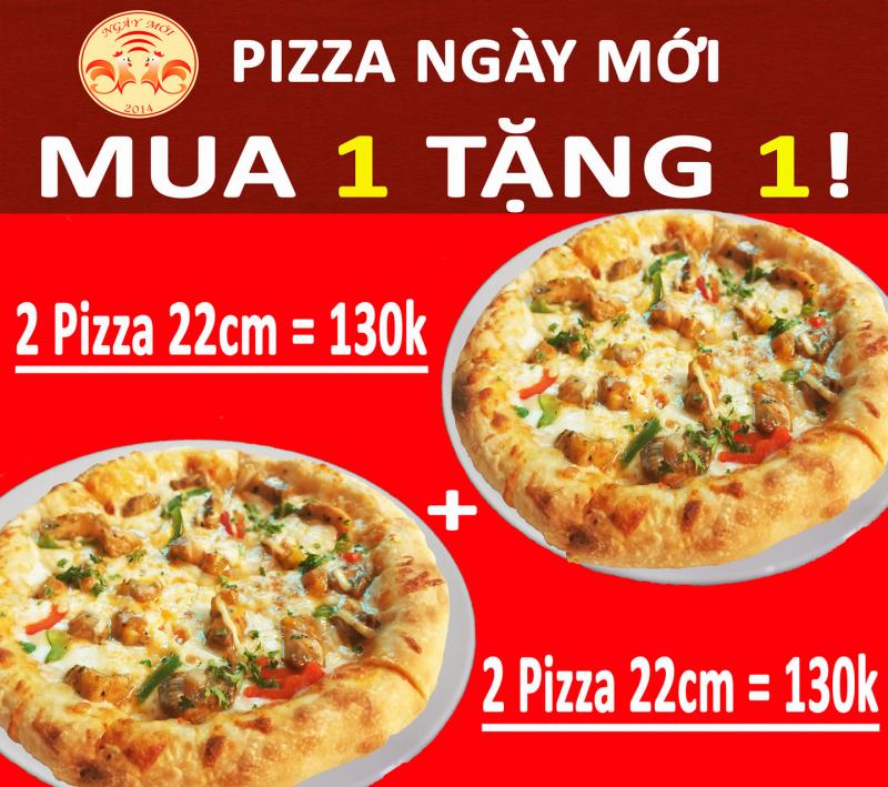 Nhà Hàng Ngày Mới – Pizza ngon Thanh Trì chuyên phục vụ pizza, bít tết bò Úc, thịt nướng Nga, cơm đĩa cao cấp, fastfood…
