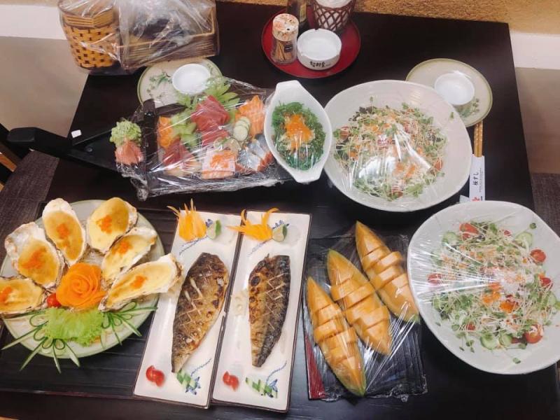 Nhà hàng Nhật Bản Sakura sushi Bắc Ninh