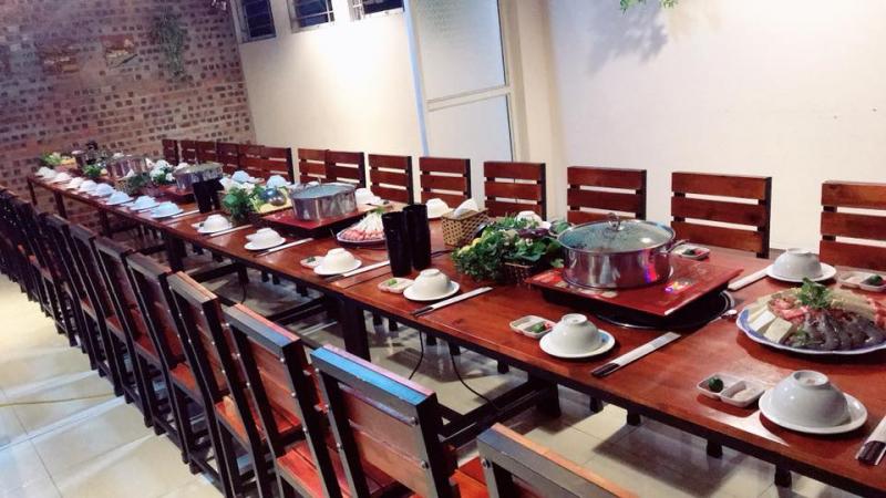 Không gian tại nhà hàng Pansy