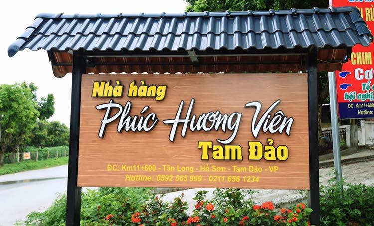 Nhà hàng Phúc Hương Viên Tam Đảo
