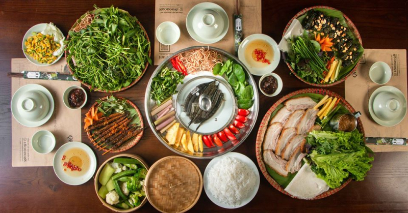 Top 13 nhà hàng ẩm thực Việt nổi tiếng nhất ở Hà Nội