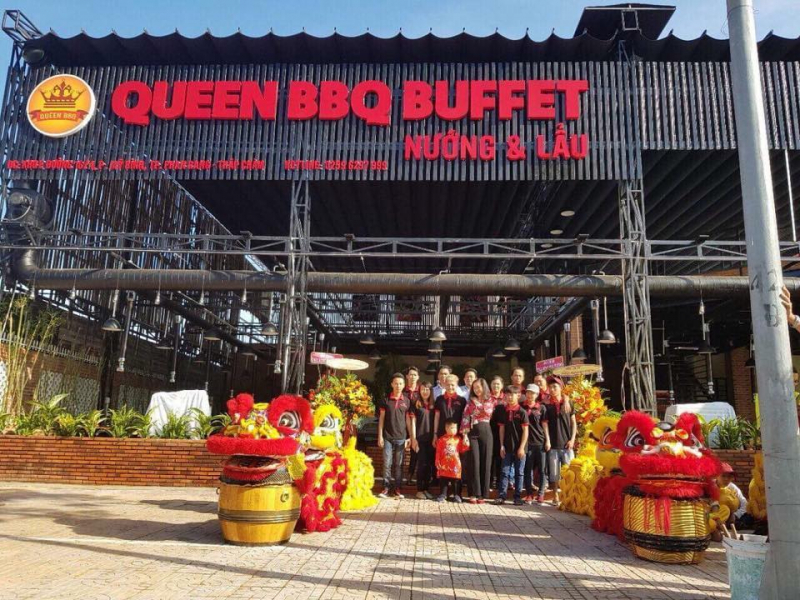 Nhà hàng Queen BBQ Buffet Nướng & Lẩu