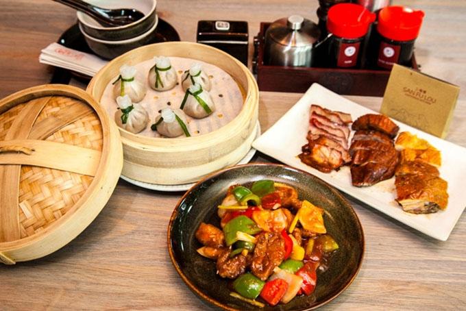 Các món ăn không chỉ ngon mà còn vô cùng hấp dẫn tại nhà hàng