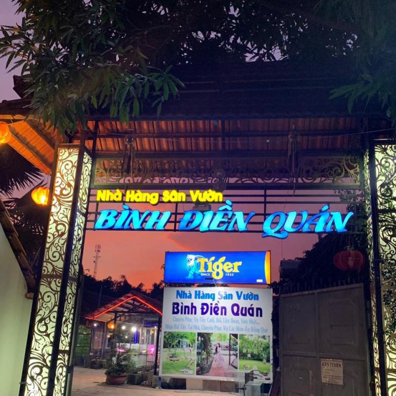 Nhà Hàng Sân Vườn Bình Điền Quán