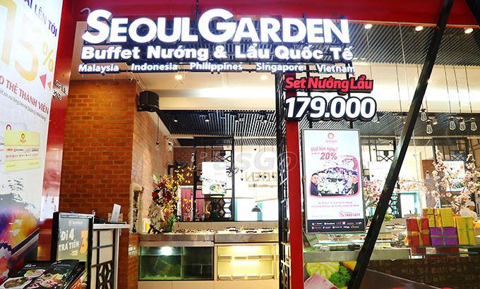 Seoul Garden Restaurant - Vincom Ba Trieu