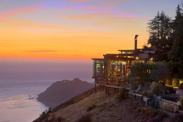 Nhà hàng Sierra Mar ở California, Mỹ