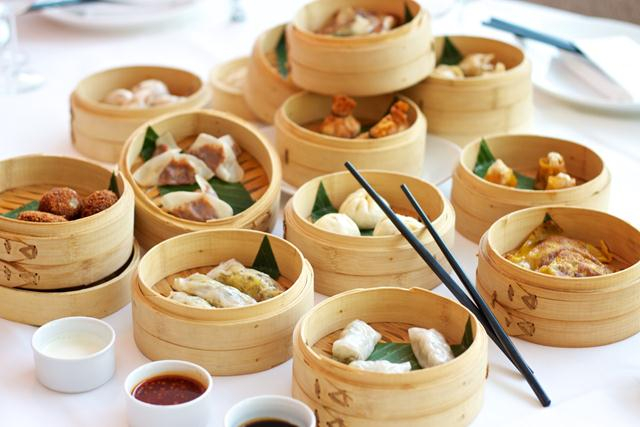 Attractive Chinese dishes at the restaurant
