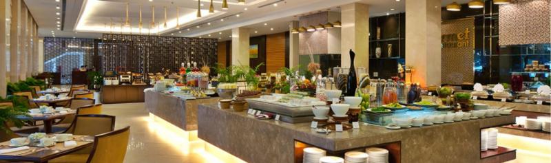 Nhà hàng sinh thái Phước Lạc Viên, bên ngoài dân dã bên trong sang trọng