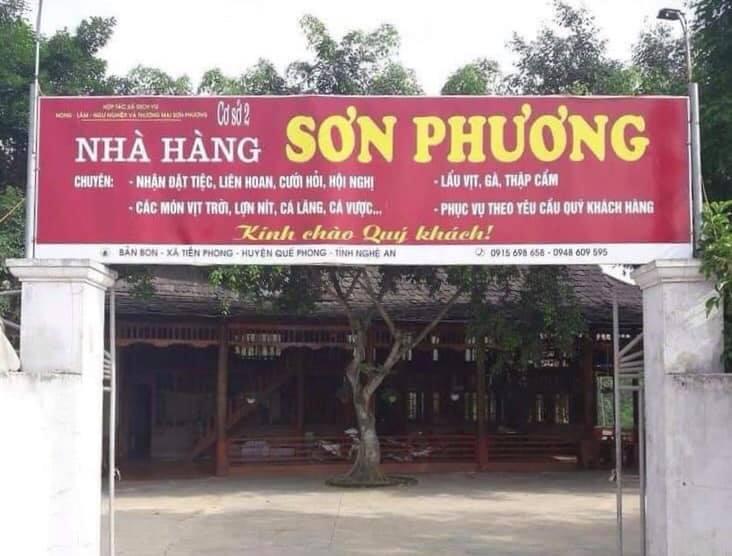Nhà Hàng Sơn Phương